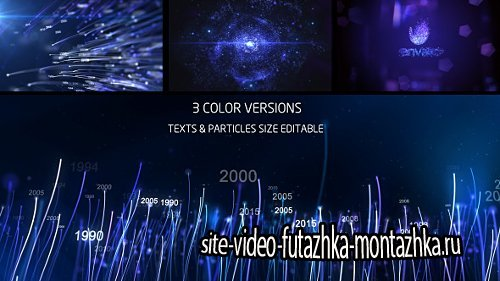 Line Particles Logo Reveal - Project for After Effects (Videohive)