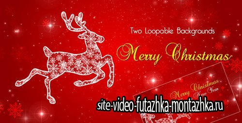 Christmas Reindeer - Motion Graphics (Videohive)