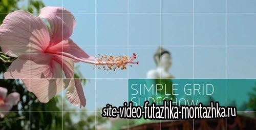 Simple Grid Slideshow - Project for After Effects (Videohive)