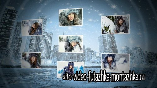 Winter collage - Project for Proshow Producer