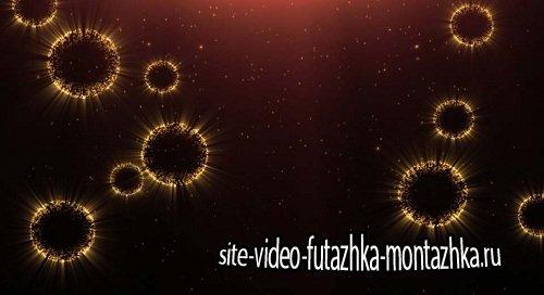 Футаж - Светящиеся медузы