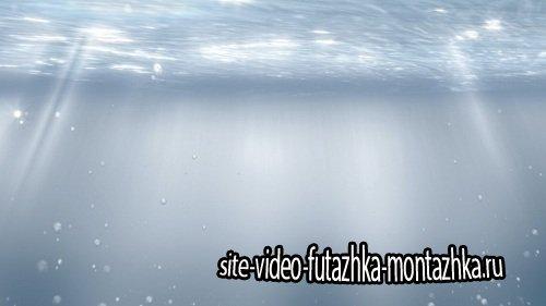 Видео футаж HD - Подводный мир