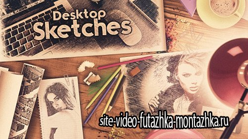 Desktop Sketches - Project for After Effects (Videohive)