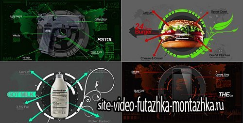 Infographics Mix - Project for After Effects (Videohive)
