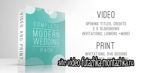 Complete Modern Wedding Pack - Project for After Effects (Videohive)