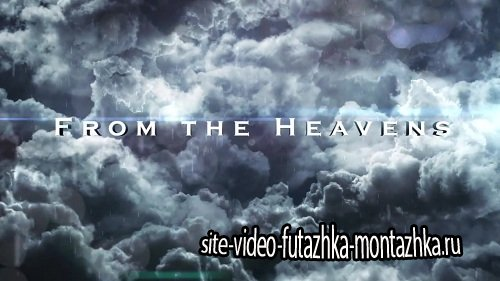 CLOUDS  TITLE SEQUENCE - After Effects Template
