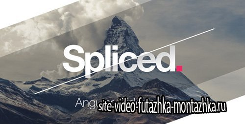 Spliced Angular Slideshow - Project for After Effects (Videohive)