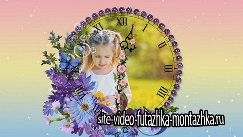 Flower Clock - Project for Proshow Producer