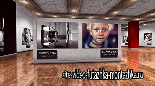 Photo Art Gallery 3D - Project for After Effects (Videohive)