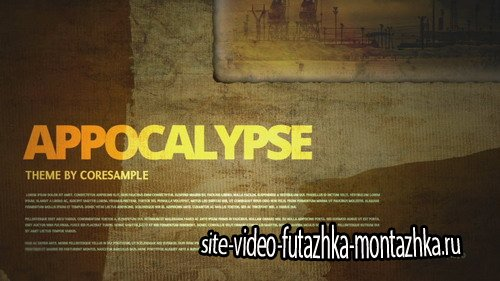 Apocalypse - Project for After Effects