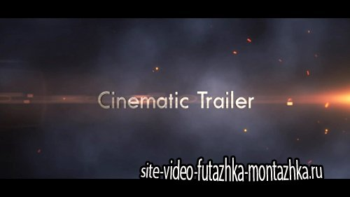 Epic Cinematic Trailer After Effect Template (motionVFX)