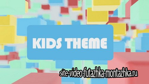 Kids Theme Promo - Project for After Effects
