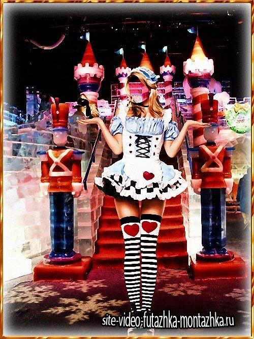 Шаблон для фотошопа - Принцесса игрушек
