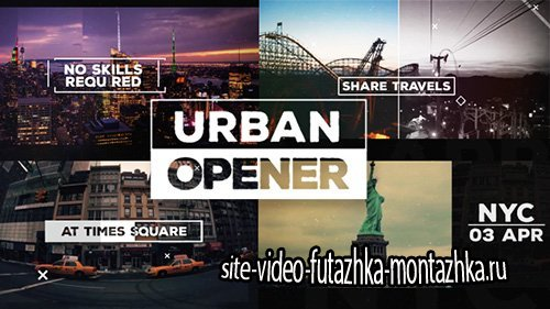 Urban Opener 14461470 - Project for After Effects (Videohive)
