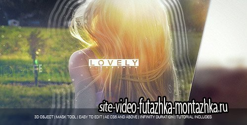 Lovely Slideshow - Project for After Effects (Videohive)