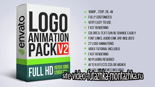Logo Animation Pack V2 - Project for After Effects (Videohive)