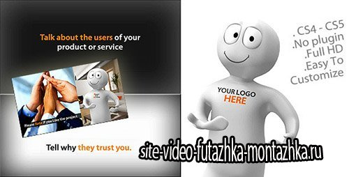 3D Character To Promote Your Product or Service - Project for After Effects (Videohive)