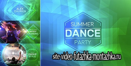 Summer Party - Project for After Effects (Videohive)