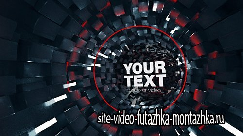 Tunnel Logo Opener - Project for After Effects (Videohive)