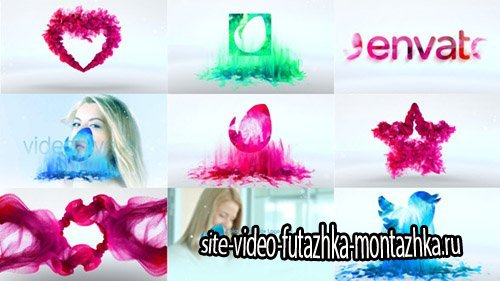 Colorful Particle Logo Pack - Project for After Effects (Videohive)