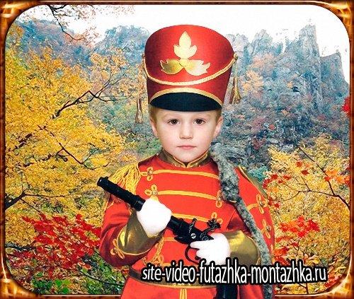 Детский костюм - Бравый солдатик