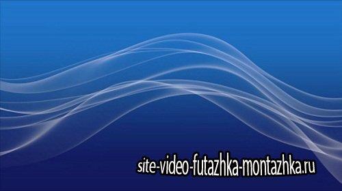 Видео футаж HD - Анимированные волны