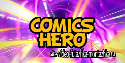 Comics Hero (Broadcast Pack) - Project for After Effects (Videohive)