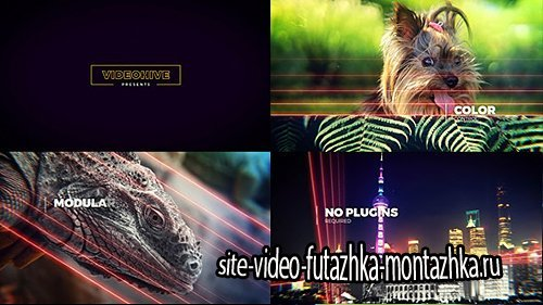 Lightlines | Slideshow - Project for After Effects (Videohive)