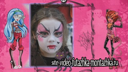 Monster high end kids  - Project for Proshow Producer