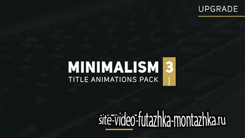Minimalism 3 - Project for After Effects (Videohive)