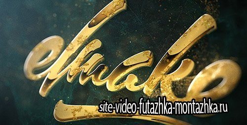 Epic Golden Logo - Project for After Effects (Videohive)
