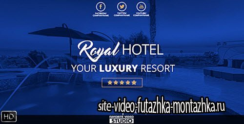 Royal Hotel Presentation - Project for After Effects (Videohive)