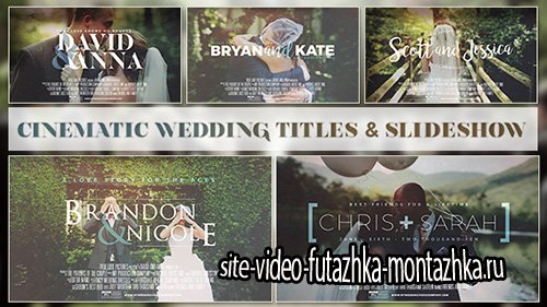 Cinematic Wedding Slideshow - Project for After Effects (Videohive)