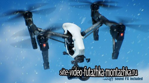 Quadcopter - Project for After Effects (Videohive)