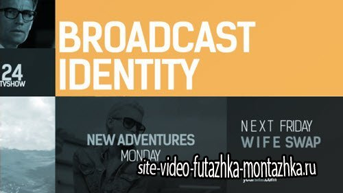 Broadcast Identity pack - Project for After Effects (Videohive)