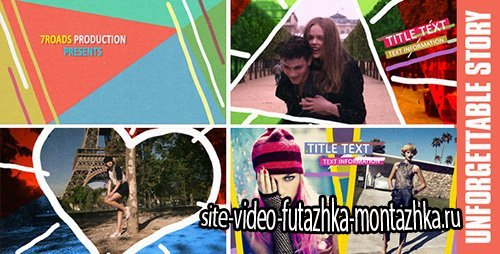 Unforgettable Story - Slideshow - Project for After Effects (Videohive)