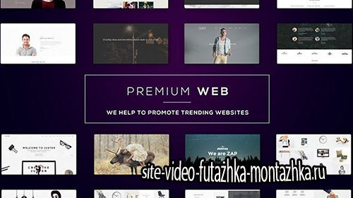 Premium Web l Website Presentation - Project for After Effects (Videohive)
