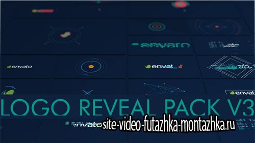 Logo Pack Shape 16 in 1 - Project for After Effects (Videohive)