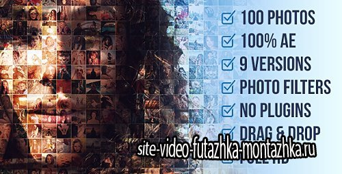 Mosaic Photo Animation Pro - Project for After Effects (Videohive)
