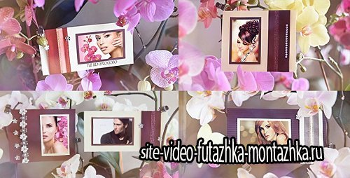 Photo Gallery in Flowers - Project for After Effects (Videohive)