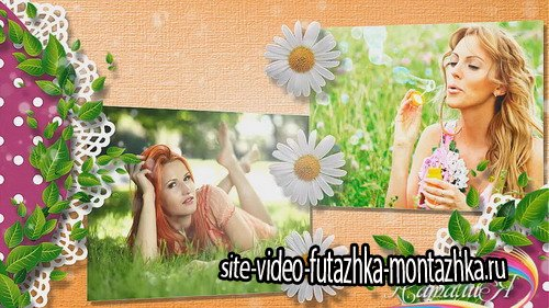 Chamomile SUMMER - Project for Proshow Producer