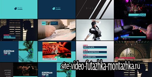TV Channel Rebrand - Project for After Effects (Videohive)