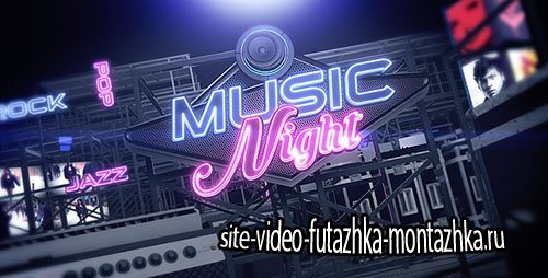 Music Night V.3 - Project for After Effects (Videohive)