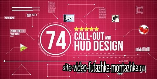 74 Call-Out and Hud Design Pack - Project for After Effects (Videohive)