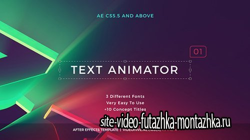 Text Animator 01: Creative Modern Titles - Project for After Effects (Videohive)