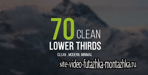 Lower Thirds 16283018 - Project for After Effects (Videohive)