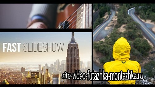 Fast Slideshow - Project for After Effects (Videohive)