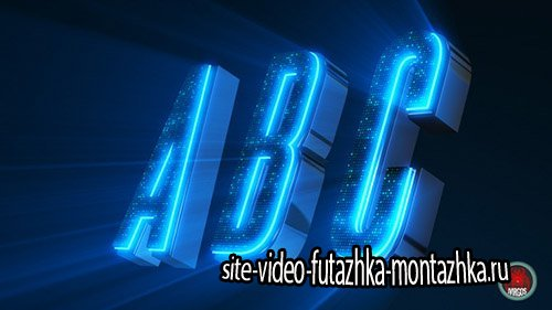 Alphabet 3D Neon LED - Abc And Social Media Icons - Project for After Effects (Videohive)