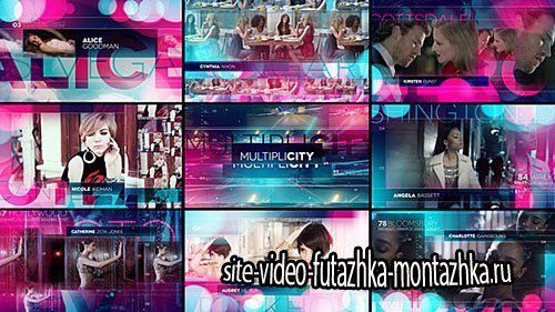 Multiplicity - Project for After Effects (Videohive)