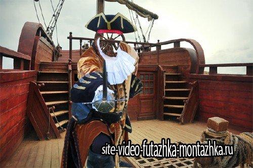 Шаблон для мужчин - На палубе корабля